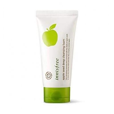 Пенка для умывания с яблоком INNISFREE Apple Seed Deep Cleansing Foam