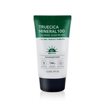 Солнцезащитный крем для чувствительной кожи SOME BY MI Truecica Mineral 100 Calming Suncream