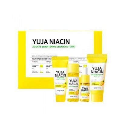 Набор мини-версий средств для осветления кожи SOME BY MI Yuja Niacin 30 Days Brightening Starter kit
