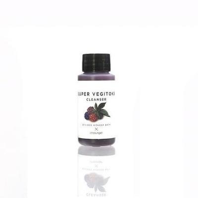 Очищающая детокс-пенка WONDER BATH Super Vegitoks Cleanser Purple - 30 мл