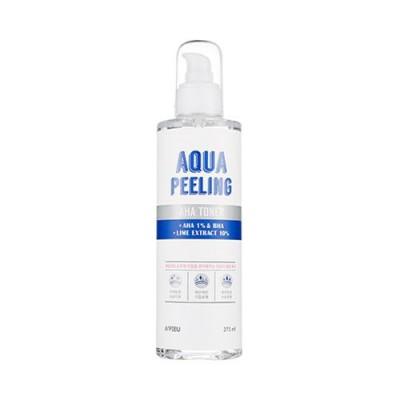 Тонер с AHA и BHA кислотами A'PIEU Aqua Peeling 1% AHA-BHA Toner