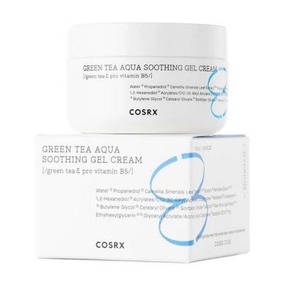 Успокаивающий гель-крем с экстрактом зеленого чая COSRX Hydrium Green Tea Aqua Soothing Gel Cream - 50 мл