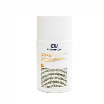 Противовоспалительная эссенция CUSKIN Clean Up Av Free Purifying Solution - 35 мл