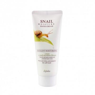 Крем для рук ESFOLIO Snail Moisture Hand Cream