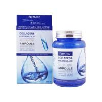 Омолаживающая сыворотка FARM STAY Collagen and Hyaluronic Acid All In One Ampoule