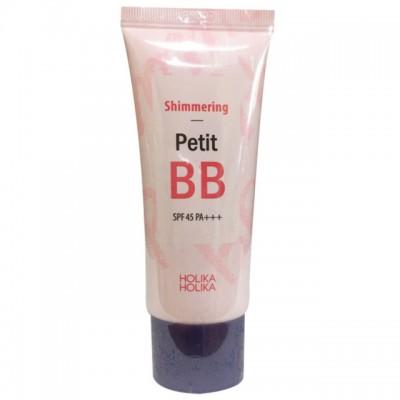 ББ крем с жемчужной пудрой HOLIKA HOLIKA Petit BB Cream - Shimmering