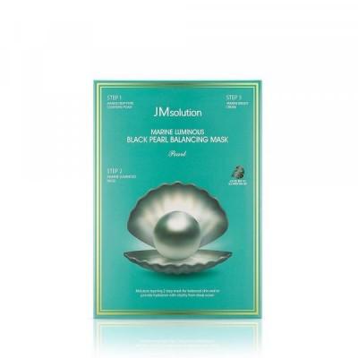 Тканевая маска с жемчугом JMSOLUTION Marine Luminous Pearl Deep Moisture Mask
