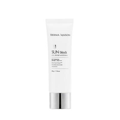 Санблок с химическими фильтрами MEDI-PEEL Derma Maison Cell Repair Whitening Sun Block - 50 г