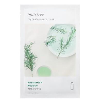 Тканевая маска с экстрактом чайного дерева INNISFREE My Real Squeeze Mask - Tea Tree