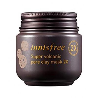 Очищающая вулканическая маска INNISFREE Super Volcanic Pore Clay Mask 2X