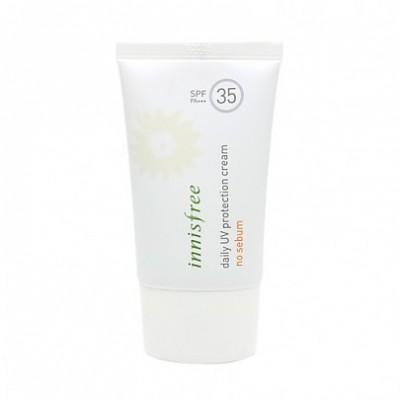 Солнцезащитный крем с маслом подсолнечника INNISFREE Daily UV Protection Cream No Sebum