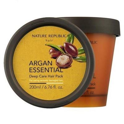 Маска для волос NATURE REPUBLIC Argan Essential Deep Care Hair Pack