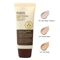 ББ крем с улиткой PURITO Snail Clearing BB Cream - Light Beige