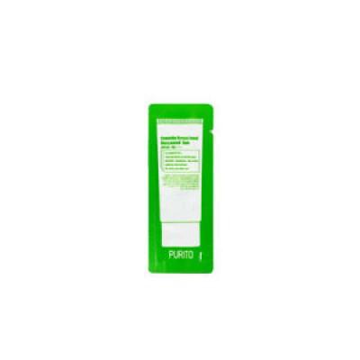 Cолнцезащитный крем без эфирных масел PURITO Centella Green Level Unscented Sun - Пробник