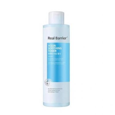 Базовый увлажняющий тонер для лица REAL BARRIER Aqua Soothing Toner - 200 мл