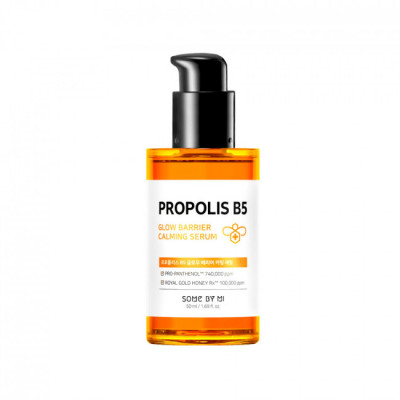 Сироватка на основі 73% екстракту прополісу і комплексу Pro-Panthenol ™ SOME BY MI Propolis B5 Glow Barrier Calming Serum - 50 мл