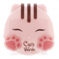 Матирующая пудра TONYMOLY Cats Wink Clear Pact Color 2 Clear Beige
