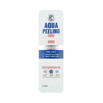 Набор для удаления черных точек A'PIEU Aqua Peeling Black Head Swab