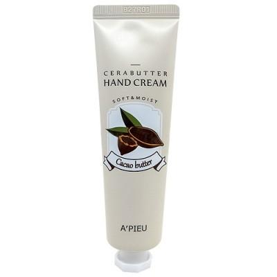 Крем-баттер для рук с маслом какао A'PIEU CeraButter Hand Cream Cacao - 35 мл