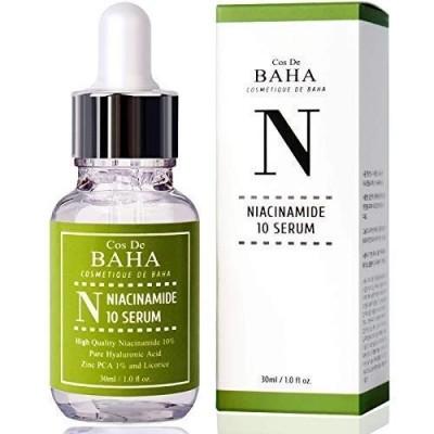 Сыворотка с ниацинамидом и цинком COS DE BAHA Niacinamide 10% Serum - 30 мл