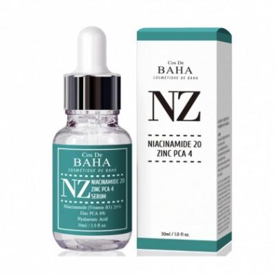 Сыворотка с ниацинамидом и цинком COS DE BAHA Niacinamide 20% Zinc 4% Serum - 30 мл