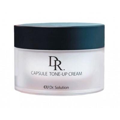 Омолаживающий крем с керамидами CUSKIN Dr.Solution Capsule Tone-Up Cream - 50 мл