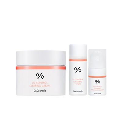 Себорегулирующий набор для жирной и комбинированной кожи DR CEURACLE 5α Control Clearing Cream Special Set