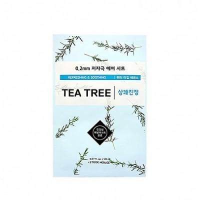 Тканевая маска с экстрактом чайного дерева ETUDE HOUSE 0.2 Therapy Air Mask - Tea Tree