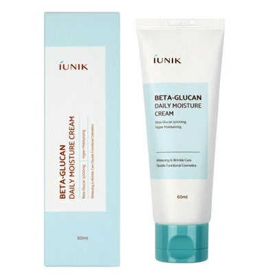 Зволожуючий крем для обличчя IUNIK Beta Glucan Daily Moisture Cream - 60 мл