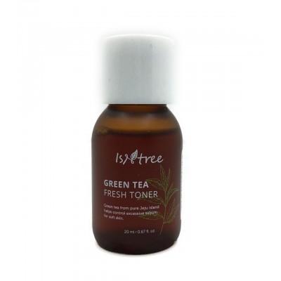 Тонер с зеленым чаем ISNTREE Green Tea Fresh Toner - 20 мл