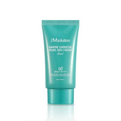Эффективный солнцезащитный крем с миксом фильтров для ежедневного использования JM SOLUTION Marine Luminous Pearl Sun Cream - 50 мл