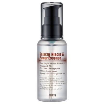 Эссенция для осветление кожи PURITO Galacto Niacin 97 Power Essence - 60 мл