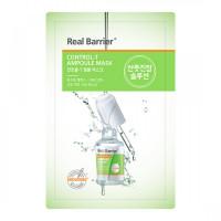 Тканевая маска для контроля жирности кожи REAL BARRIER Control-T Ampoule Mask - 25 мл