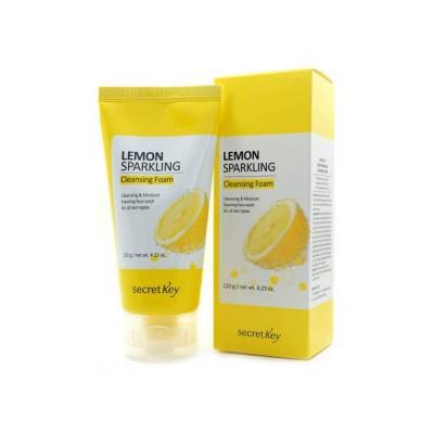 Пенка для умывания с лимоном SECRET KEY Lemon Sparkling Cleansing Foam
