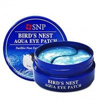 Гидрогелевые патчи под глаза с экстрактом ласточкиного гнезда SNP Birds Nest Aqua Eye Patch