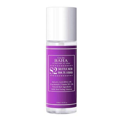 Тонер для проблемной кожи с салициловой кислотой COS DE BAHA Salicylic Acid 2% Liquide - 120 мл