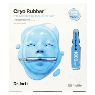 Зволожуюча альгінатна маска з гіалуроновою кислотою DR JART Cryo Rubber With Moisturizing Hyaluronic Acid - 44 г