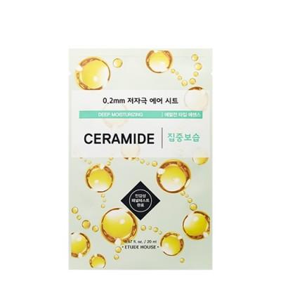 Тканевая маска с керамидами ETUDE HOUSE 0.2 Therapy Air Mask - Ceramide