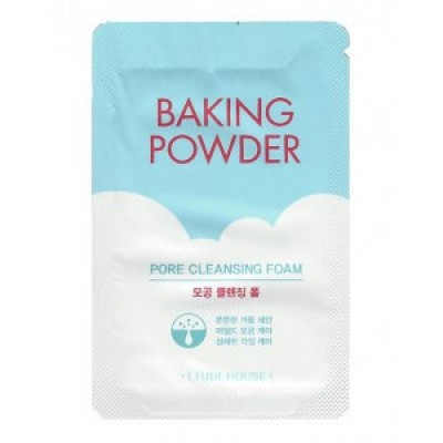 Очищающая пенка ETUDE HOUSE Baking Powder Pore Cleansing Foam - Пробник