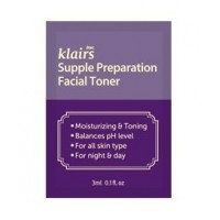 Успокаивающий тонер KLAIRS Supple Preparation Facial Toner - 3 мл