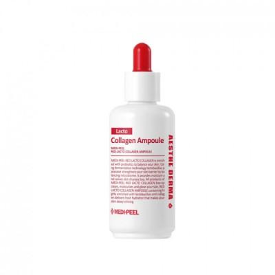Сироватка з пробіотиками та амінокислотами MEDI-PEEL Lacto Collagen Ampoule - 70 мл