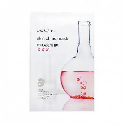 Тканевая маска с коллагеном INNISFREE Skin Clinic Mask 06 Collagen