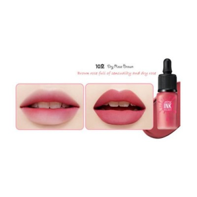 Тинт для губ PERIPERA Ink The Airy Velvet - Color 10 Dry Rose Brown