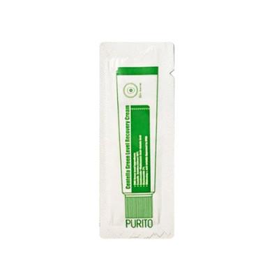 Восстанавливающий крем для лица с центеллой PURITO Centella Green Level Recovery Cream - Пробник