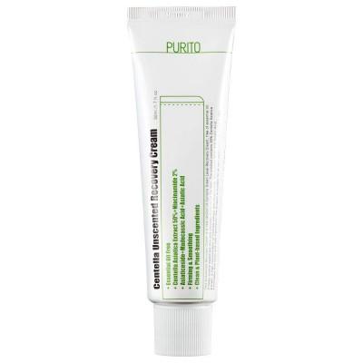Восстанавливающий крем с центеллой без эфирных масел PURITO Centella Unscented Recovery Cream - 50 мл