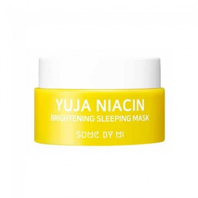 Осветляющая ночная маска SOME BY MI Yuja Niacin Brightening Sleeping Mask - 15 мл
