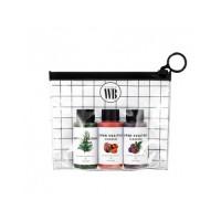Мини набор очищающих детокс-пенок WONDER BATH Super Vegitoks Cleanser Miniature Kit