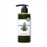 Очищающая детокс-пенка WONDER BATH Super Vegitoks Cleanser Green - 200 мл