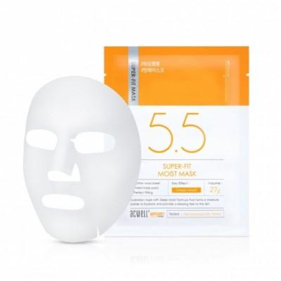 Глубоко увлажняющая тканевая маска ACWELL Super Fit Moisture Mask