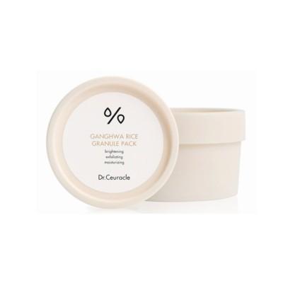 Регулярная маска для лица с экстрактом риса DR CEURACLE Ganghwa Rice Granule Pack - 115 г